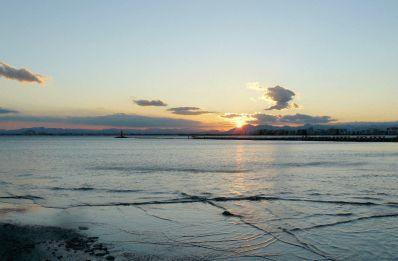 Vistes del mar a Roses (Costa Brava)