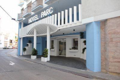 Entrada Hotel Parc Roses (Costa Brava)