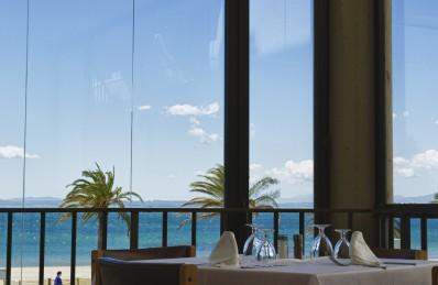 Vistes restaurant buffet Hotel Parc Roses (Costa Brava)