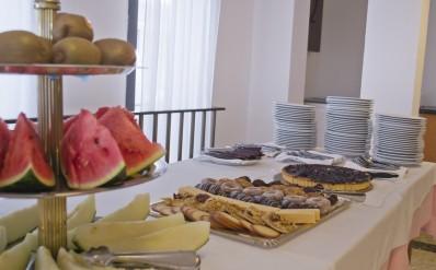 Restaurant buffet postres Hotel Parc Roses (Costa Brava)
